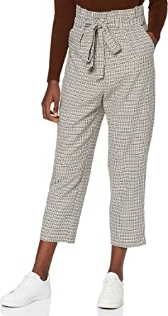 Amazon Brand - find. Women's Paperbag Tie Waist Trouser