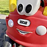 FRONT Number Plate 3D Printed personalised for COZY COUPE CAR