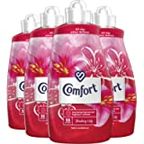 Comfort Fabric Conditioner and Softener Liquid, Laundry, Strawberry and Lily, Extra Clean And Fresh Fragrance Scent For…
