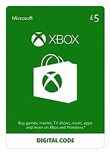 Xbox Live £5 Credit [Xbox Live Download Code]