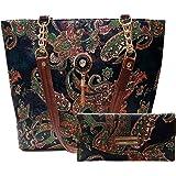 Wild Maple Women's Handbag Black Combo of 2