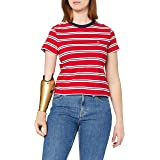Tommy Jeans Tjw Regular Contrast Baby tee Camiseta para Mujer