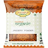 Dhampure Speciality Organic Jaggery Powder - 1.6Kg (Pack of 2 - 800g Each)