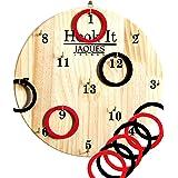 Jaques of London Hoopla - Haak It Garden HOOPLA Game en gespeeld als Ring Toss of Darts - de populaire Indoor Toys - Speel en