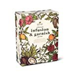 Gin Infusion & Garnish Kit - Four Delicious Infusions and Four Beautiful Garnishes - Perfect Gift Set for a Gin Lover