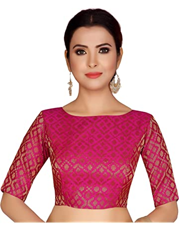 cheap sale to buy stylish design Buy fancy saree blouses online at best prices in India ...