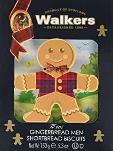 Walkers 3D Mini Gingerbread Men Shortbread, Pack of 1