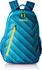 American Tourister Rave 29 Ltrs Teal Casual Backpack (Fi3 (0) 11 001)