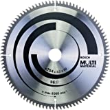 Bosch Professional 2608640451 Multi Material Circular Saw Blade, Silver, 96