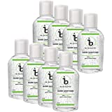 BE.THE SOLUTION Hand Sanitizer (60% Ethyl Alcohol) Citrus - 50 Ml (Pack Of 8)