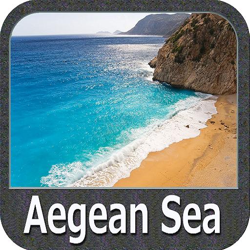 Aegean Sea GPS Map Navigator