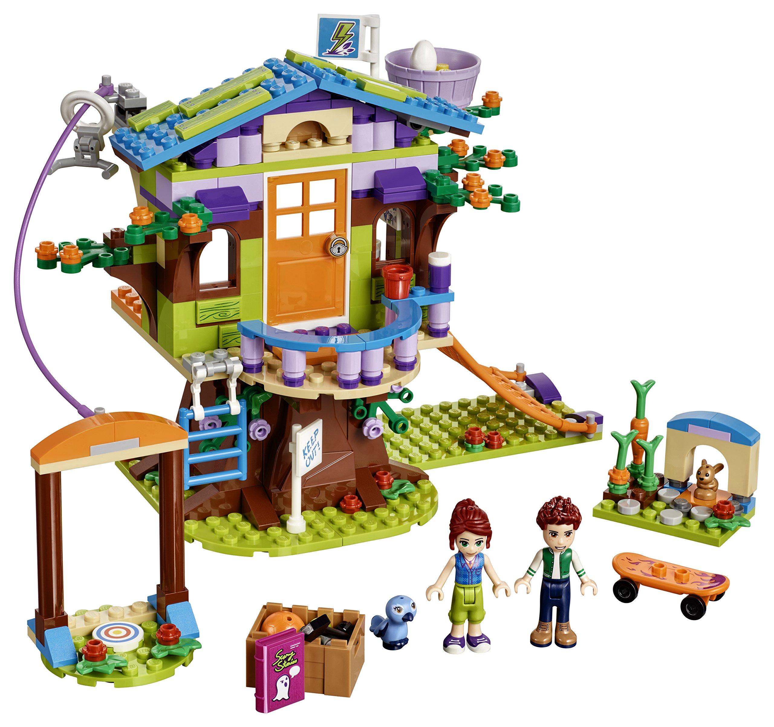 LEGO- Friends La Casa sull'Albero di Mia Set di Costruzioni Ricco di Particolari, con Mini Doll di Mia e Daniel, per… 2 spesavip