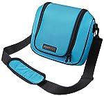 AmazonBasics Sacoche de voyage pour Nintendo 2DS XL, Turquoise