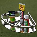 U-S-F BATH ACCESSORIES Premium HIgh Grade Stainless Steel Bathroom Shelf/Kitchen Shelf/Bathroom Shelf and Rack/Caddy…