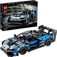 LEGO 42123 Technic McLaren Senna GTR Modèle de Collection de Voiture de Sport de Course, Jeu de Construction de véhicule