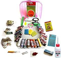 Hunanii Industries Plastic Multipurpose Sewing Kit (Multicolour)