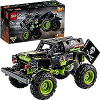 LEGO 42118 Technic Monster Jam Grave Digger - Camion-Jouet et Un Buggy Tout-Terrain Se transforment, Jeu de Construction…