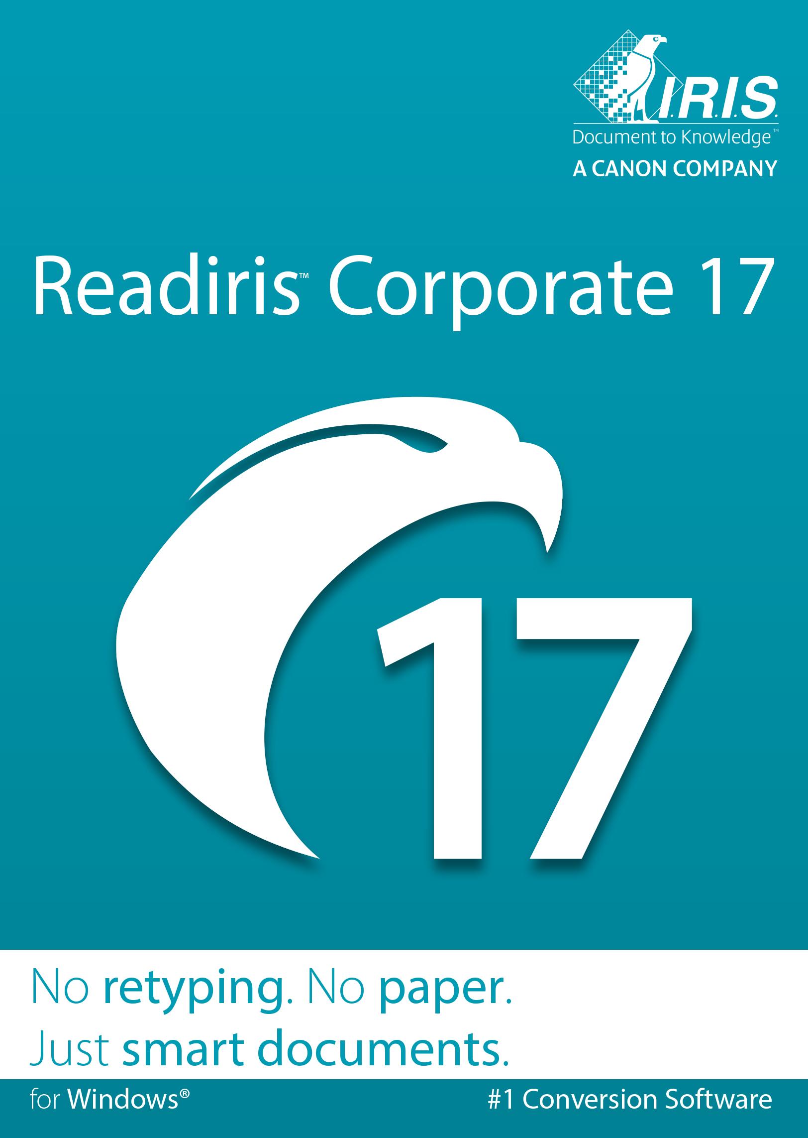 Readiris Corporate 17 für Windows - OCR-Software [Download]