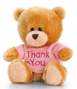 Peluche Ours, Pipp The Bear avec Thank You T-shirt en bleu, rose ...