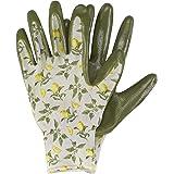 Briers Ladies Sicilian Lemon Seed and Weed Gardening Gloves Waterproof Excellent Grip Elasticated Wrist Women