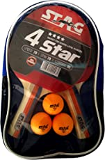 Stag 4 Star Table Tennis Kit