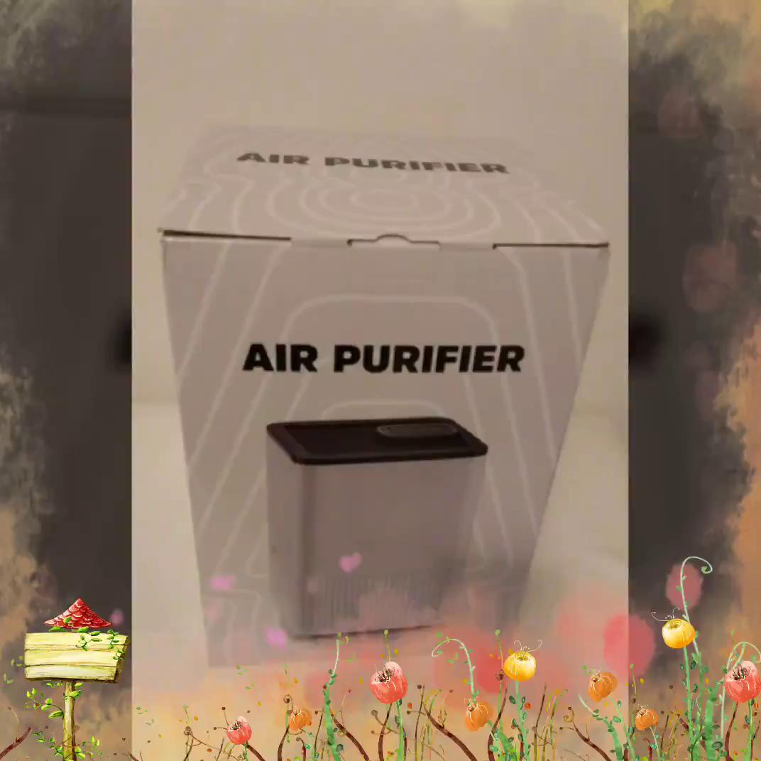 Nobebird Purificador de Aire 4 en 1 con Filtro HEPA, Limpiador de ...