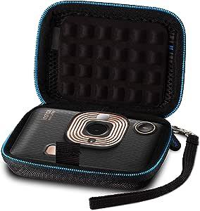 Supremery Case Für Fujifilm Instax Mini Liplay Sofortbildkamera Case Tasche Schutzhülle Hülle Eva Hardcase Mit Handschlaufe