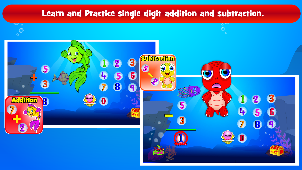 Kids Math Practice Grade 1,2: Amazon.co.uk: Appstore for Android