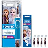 Oral-B Stages Power Kids Electric Rechargeable Toothbrush with Disney Frozen Characters, 1 Handle, 1 Brush Head, UK 2…