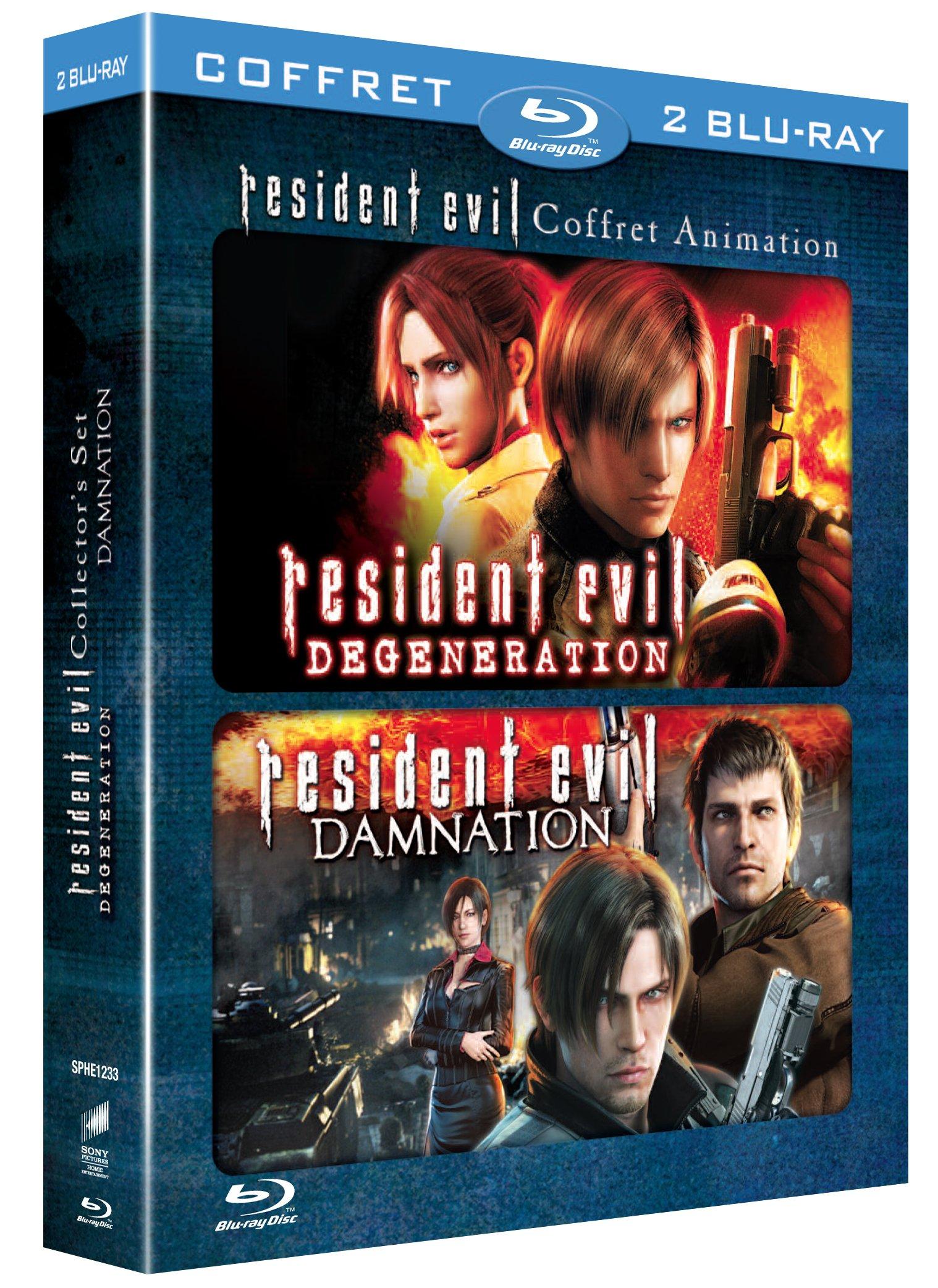 Resident evil : damnation ; resident evil : degeneration [Edizione: Francia]