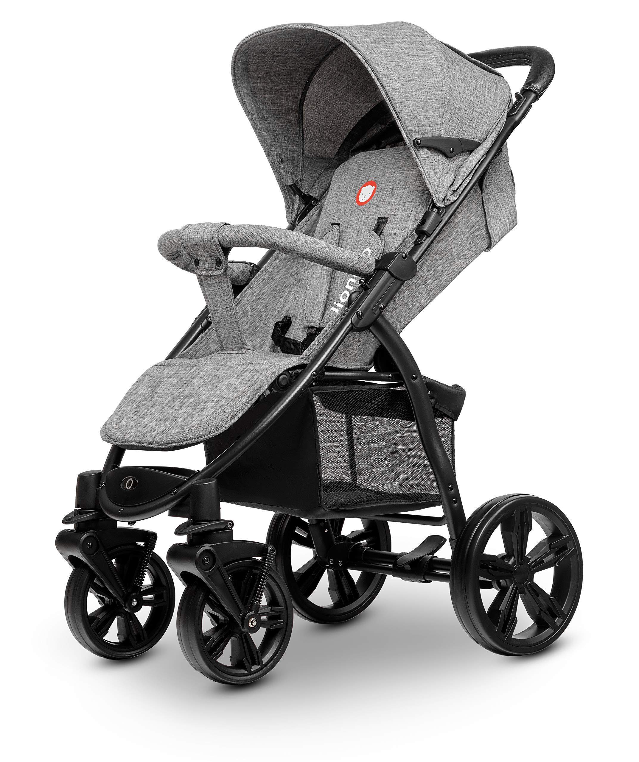 Lionelo 5902581656278 LO-Annet Concrete Stroller Pushchair (Light-Gray)   9