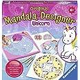 Ravensburger – Mandala – Midi – Unicorn – Loisir créatif – Dessin – Enfant dès 6 ans – 29703