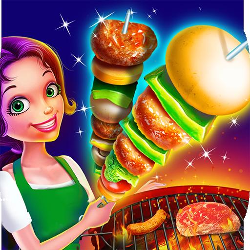 BBQ Grill Maker - Crazy Backyard Barbecue