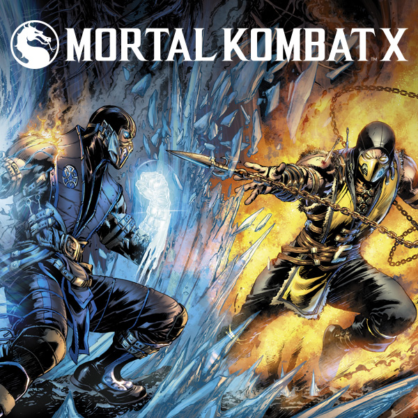 Mortal Kombat X (2015) (Collections) (3 Book Series)