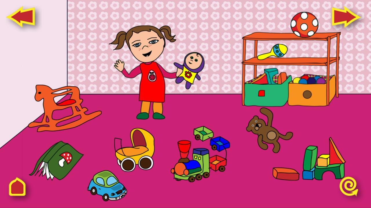 KinderApp - Kinder lernen sprechen in den Sprachen Deutsch