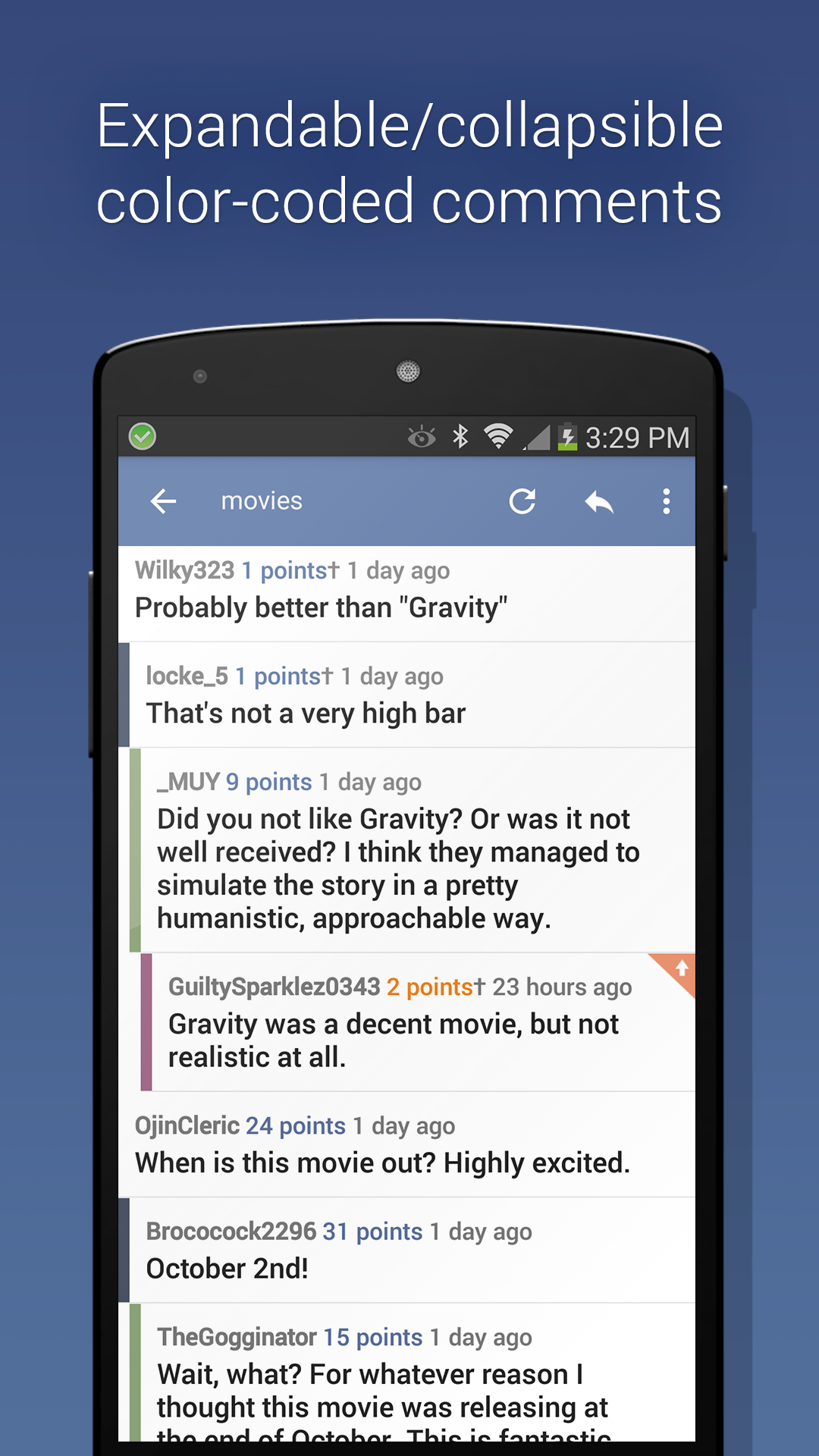 BaconReader For Reddit Amazonde Apps Fur Android