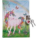 Lucy Locket - Journal Intime Licorne Magique pour Enfants (Avec Cadenas et Clés) Journal Intime Enfant Pailleté