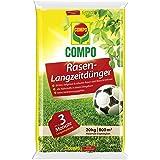 COMPO Fertilizante para césped, de efecto de larga duración 20 kg, para 800 m².