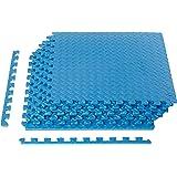 AmazonBasics Puzzle Exercise Mat with EVA Foam Interlocking Tiles