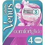 Gillette Venus Spa Breeze 2 In 1 Lamette di Ricambio per Rasoio Donna, Confezione da 4 Lamette Con Barre di Gel per Depilazio
