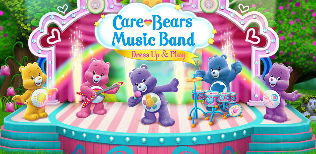 Image of Care Bears Music Band - Dress Up & Play