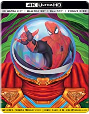 Spider-Man: Far from Home (Steelbook) (4K UHD + Blu-ray 3D + Blu-ray + Bonus Disc) (4-Disc Box Set)