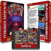 """Cartouche pour console Megadrive """"Great Games 196"""" : Un sélection des plus grands jeux de la Megadrive"""