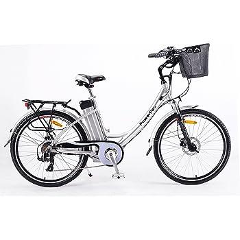"PowerPac - CITYBIKE 28"" Pedelec Elektrofahrrad E-Bike Fahrrad - hydr. Scheibenbremsen + Akku Li-Ionen 36V 16AH (576 Wh) - 2019"