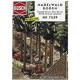 Busch 7529 Barrträd skog-mark HO landskap skala modell