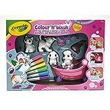 Crayola - Washimals - Mes Animaux à Colorier - Coffret - Loisir créatif - washimals - Color N wash - à partir de 3 ans - Jeu