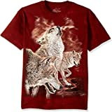 The Mountain Men's Red Glow Wolves T-shirt