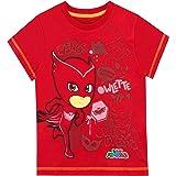 PJ Masks Camiseta de Manga Corta para niños Buhíta