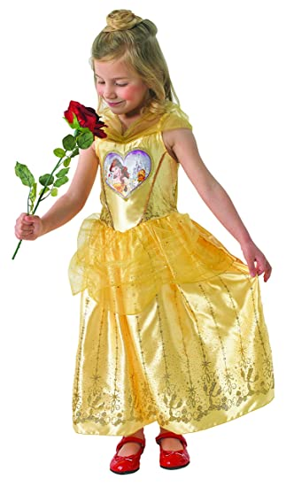 Loveheart Belle Girls Fancy Dress Disney Beauty And The Beast Kids Child Costume Princess Amazoncouk Toys Games