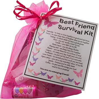 BEST FRIEND Survival Kit Gift Great Present For Birthday Or Christmas